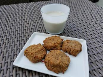 Peanut Butter Cookies No Flour No Oil No Refined Sugar Plant